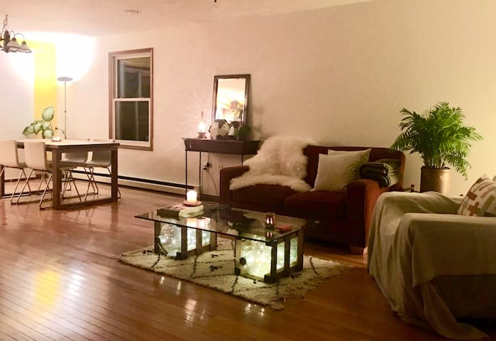 Living / dining room area
