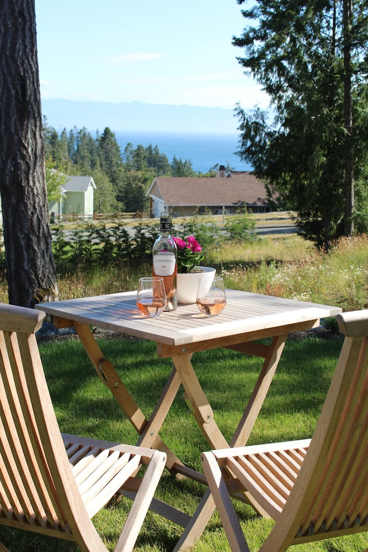 NEW!  Sensational Sooke! Ocean & Mtn. View Luxury