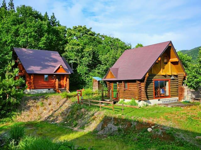 【1】Discovery Cabin & Canping Garden Kijimadaira