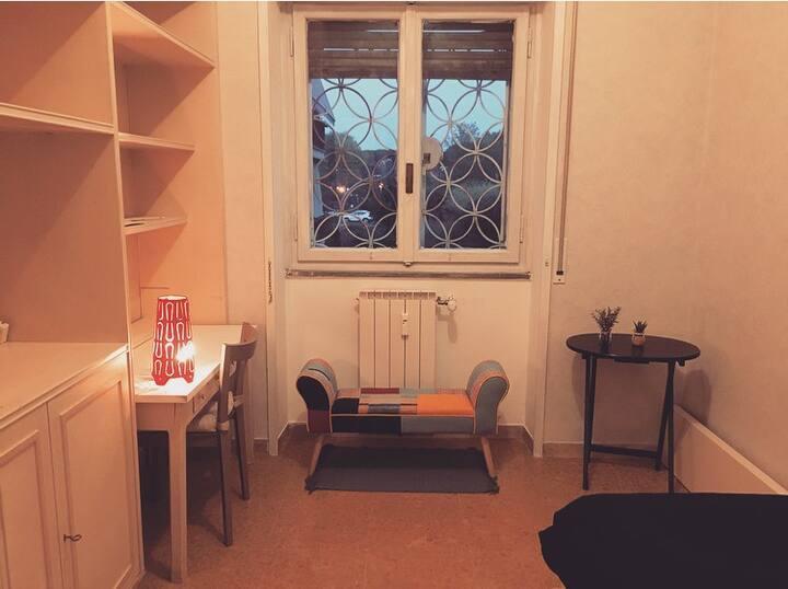 Single room near San Pietro with splendid view