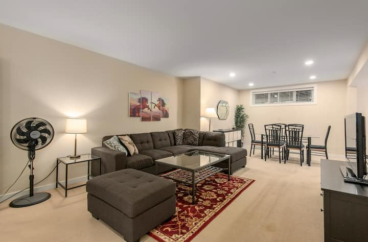 Exclusive Spacious Suite with Private Patio