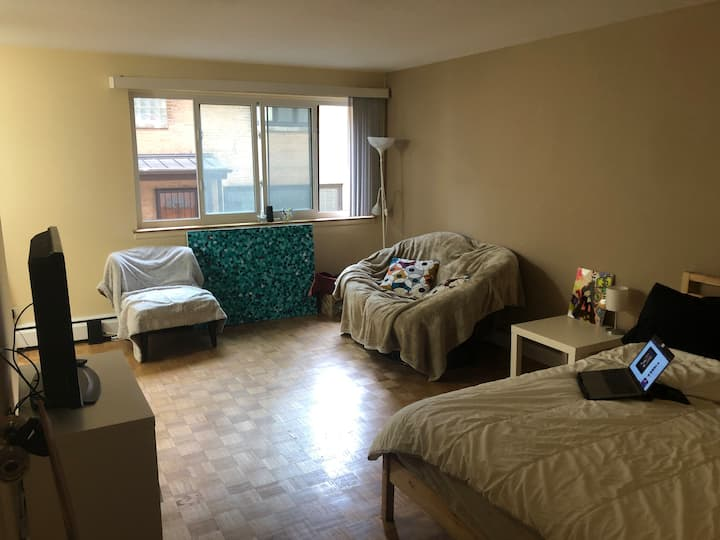 Cozy studio for two near Lincoln Park