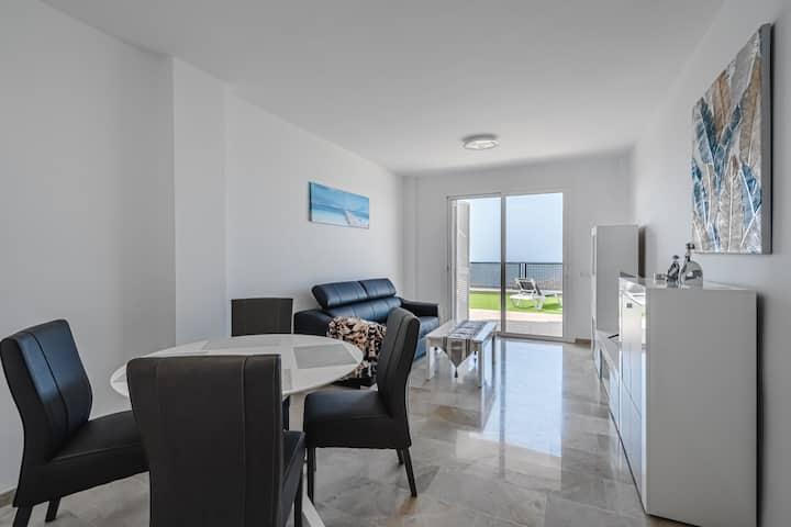 Ocean View Apartment in Arenas Negras