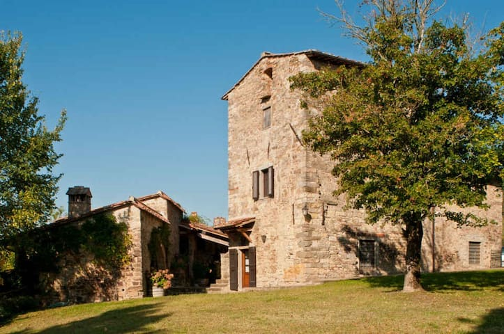 Casavecchia - Beautiful farmhouse on Wine Estate - Volpaia - Casa