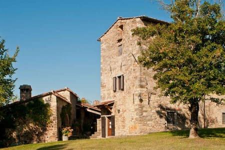 Casavecchia - Beautiful farmhouse on Wine Estate - Volpaia - Haus