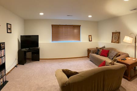 Quiet & Cozy Lower Level of Beautiful Townhome
