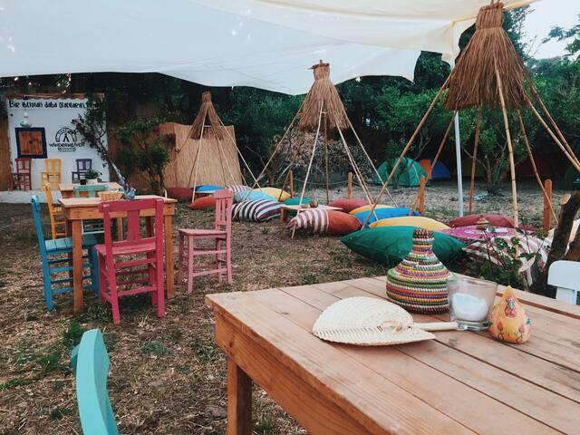Gümüşlük Sahile 50m. ! Çadır kampı - Çadırınla Gel