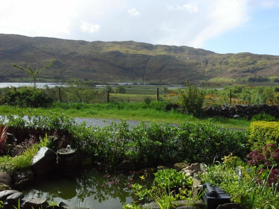 Wonderful view on Lough Mask from the Cottage