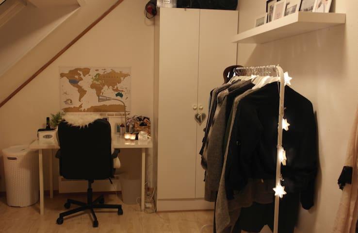 Room for rent June-August near Trondheim Sentrum! - Trondheim - Lägenhet