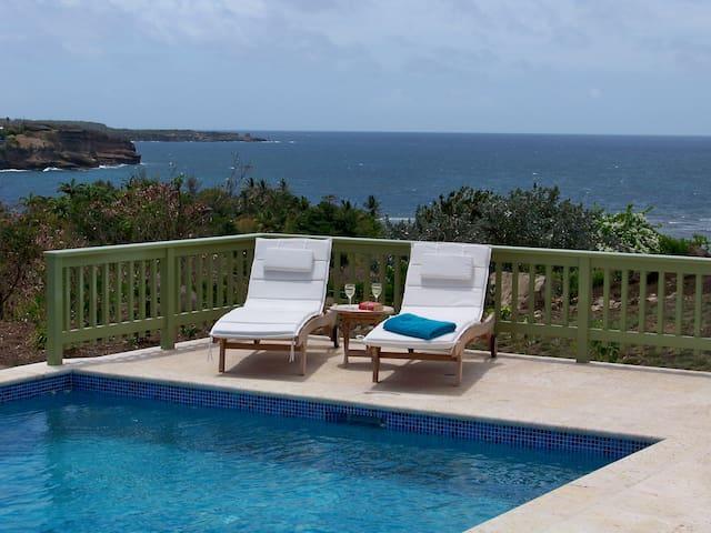 Hibiscus Villa - Luxury, beautiful views & gardens