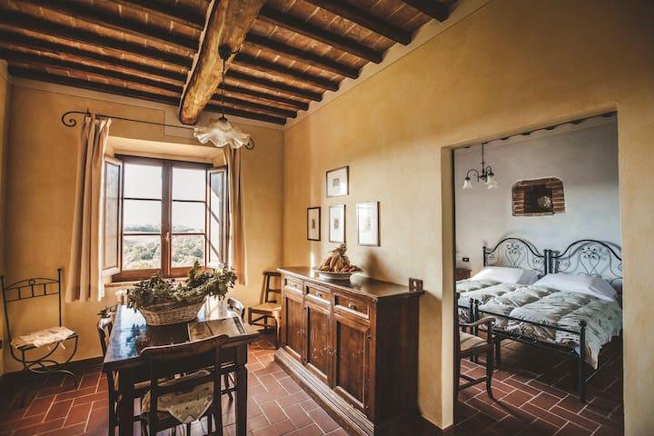 ALLORO. Una finestra sulla campagna più bella - Montefollonico - Apartament
