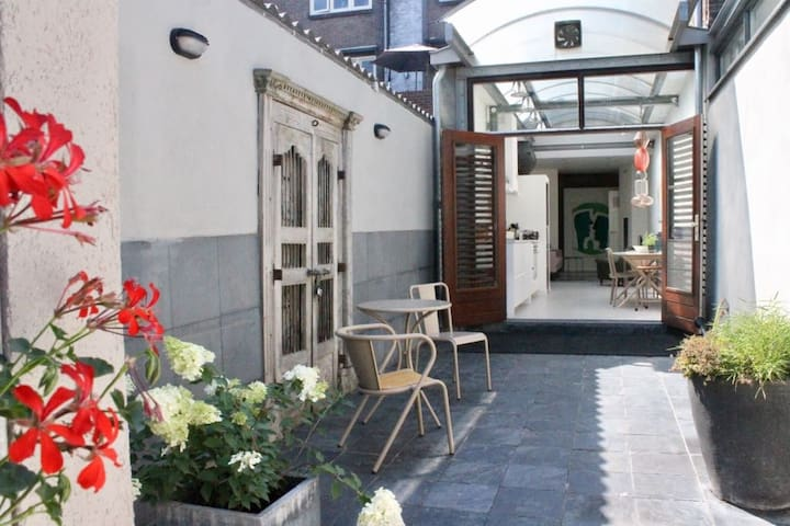 Nijmegen, apartment with privat garden