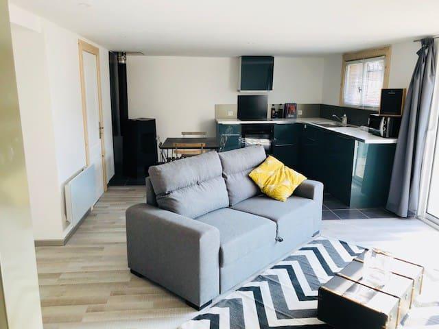 Appartement au calme à 10min du lac d'Annecy