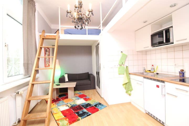 Great studio apartment  - 4 minutes to the City