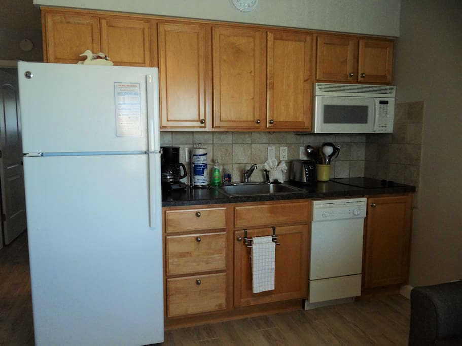 NEW kitchen cabinets, counter tops and appliances