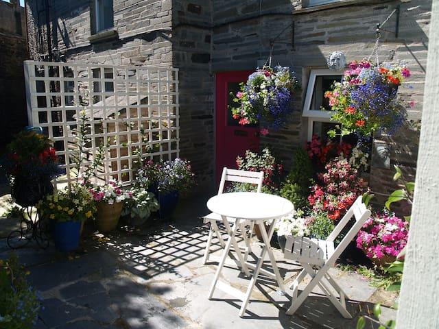 Nr Port Isaac,romantic cottage,beach,walks,pets ok - Cornwall - Hus