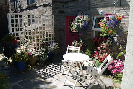 Nr Port Isaac,romantic cottage,beach,walks,pets ok - Cornwall - Rumah