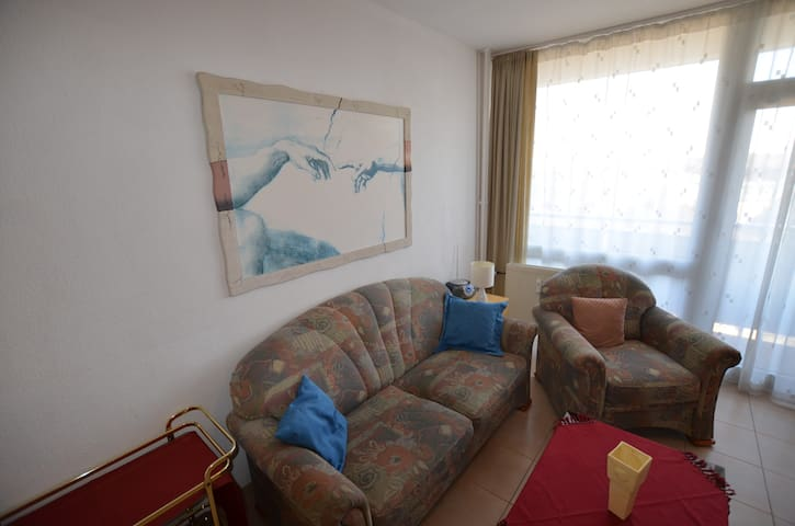Top apartment free parking WLAN, long stay only