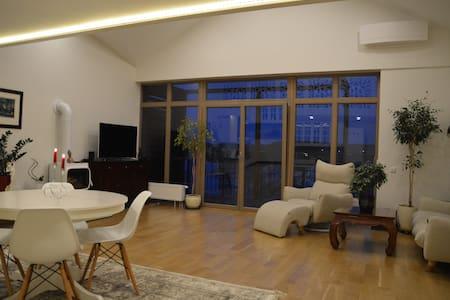 Spacious and cozy apartment next to Babrukas lake - Trakai - Apartamento