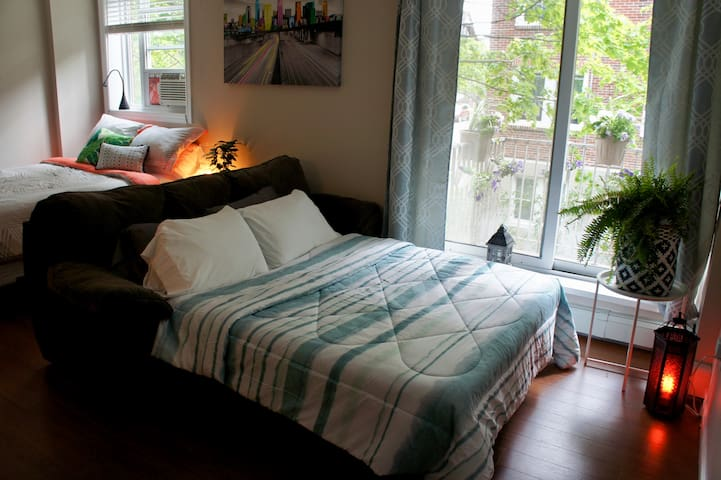Newly Renovated Studio Apartment Downtown