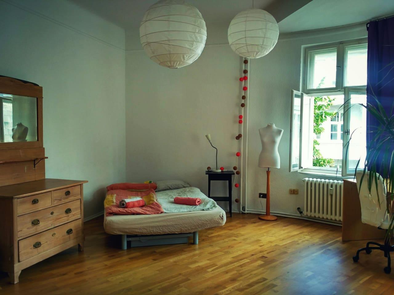Schlafzimmer/dormitory