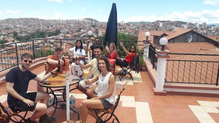 Best Panoramic views Casa Kolping Sucre