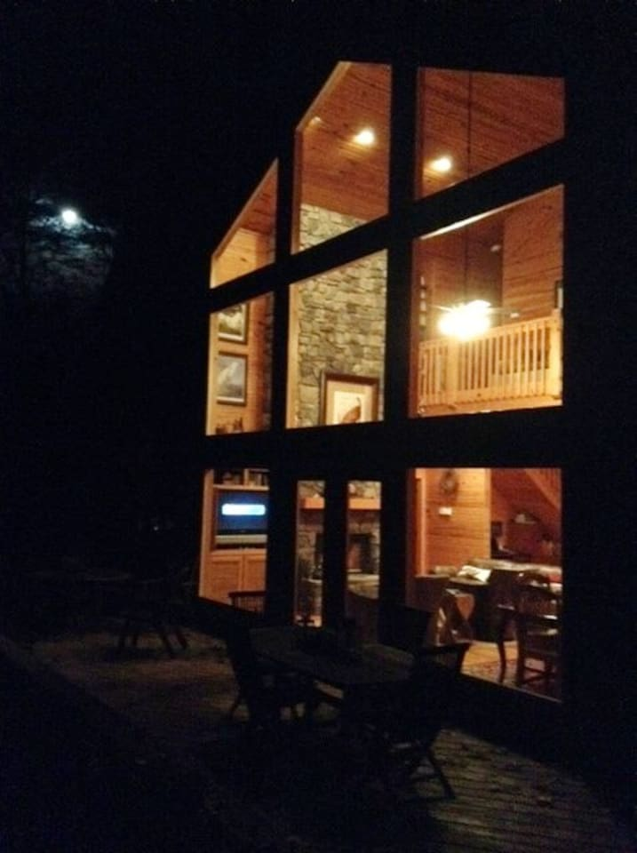 MOUNTAIN HOME...October Moon at Camp Hood