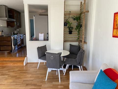 Lys og trivelig leilighet i Larvik