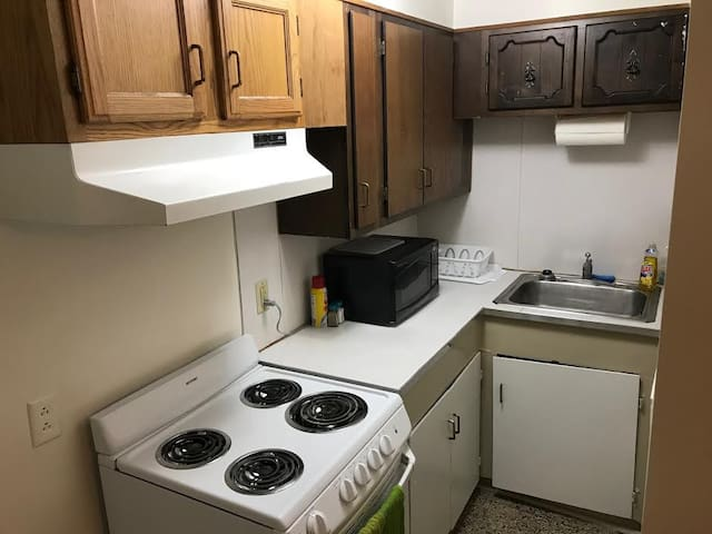 Super cozy & clean 1 BR in downtown Cortland, NY