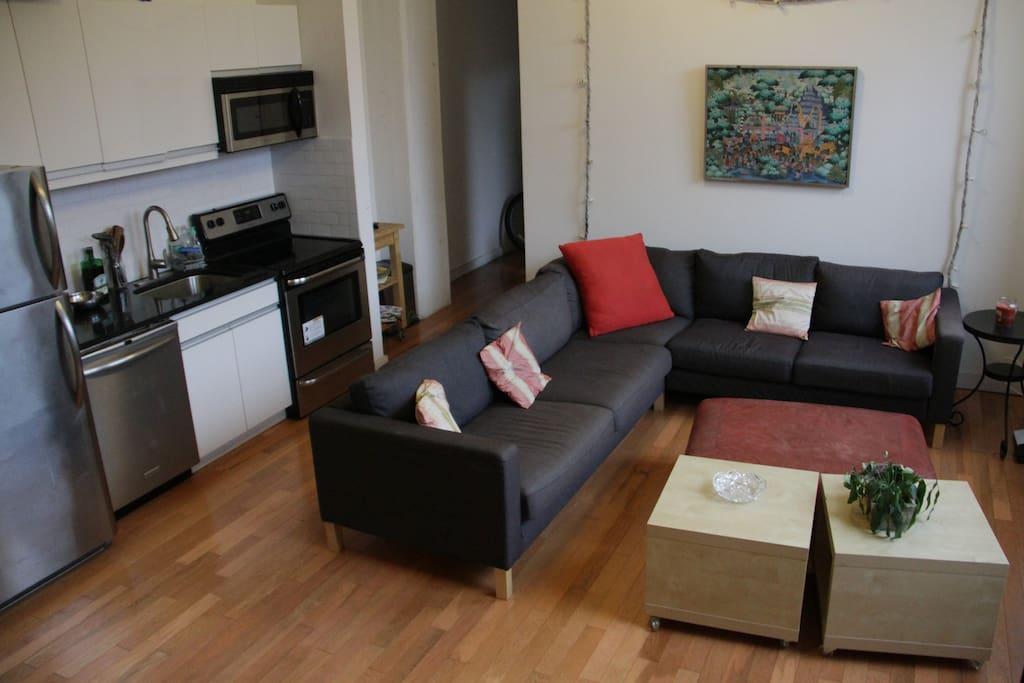 Apartment in prime williamsburg appartements louer - Bel appartement de ville brooklyn new york ...