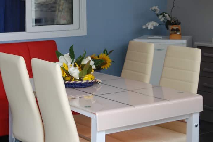 Soula's Sunshine Blue Apartment