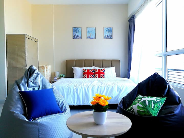 Cozy Seaview Studio Near Queensbay|Spice|Airport