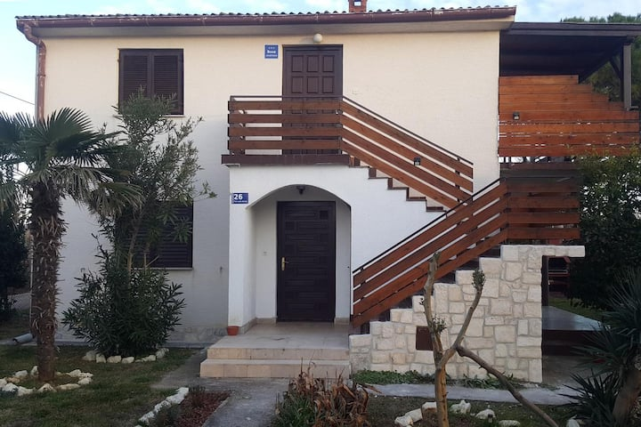 Two bedroom apartment with terrace and sea view Privlaka, Zadar (A-14833-a)