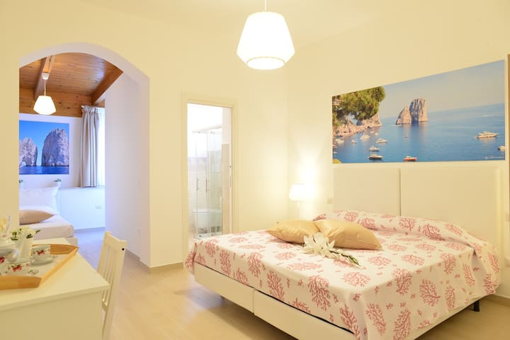 """Villa Miriam""B&B room Capri - Gragnano - Penzion (B&B)"