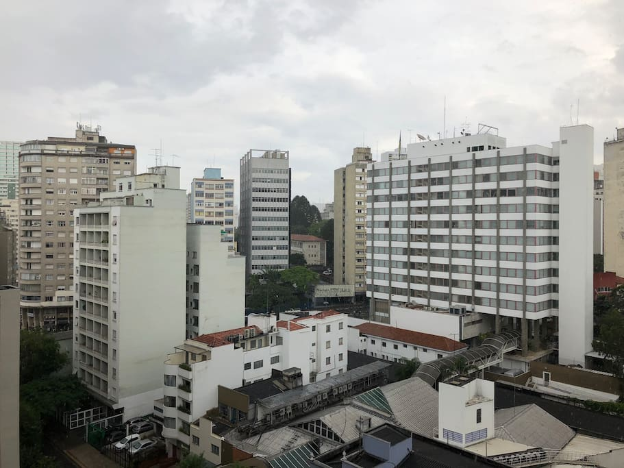 [the concrete jungle] São Paulo's view from the apt