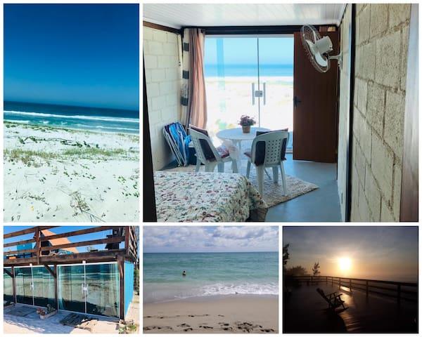 Pisando na area. Uma suite na praia de Arraial 1
