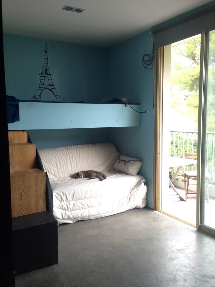 Chambre Privée avec canapé lit