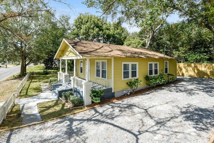 Historic Cottage on the Gulf Coast - Dogs Welcome!