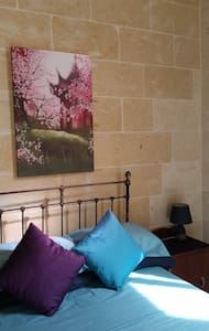 Relaxing Private Double Room With Pool & Breakfast - Il-Qala - Villa