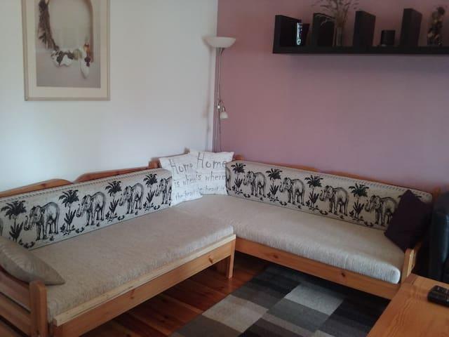Tágas apartman vagy kényelmes szoba - Kecskemét-Helvécia - Řadový dům