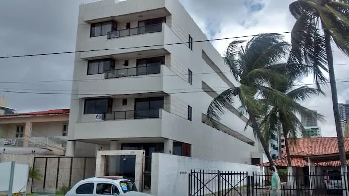 Enseada Residence 409, Flat Beira Mar de Manaíra