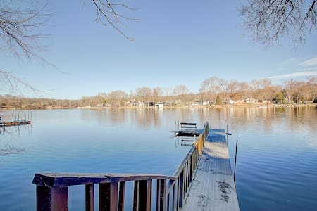 Beautiful waterfront wooded 6 bedroom home