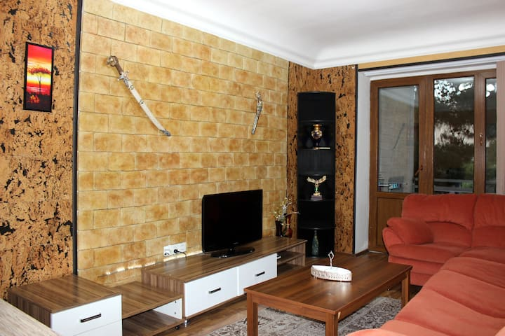Apartment near Central & Izmir park and downtown