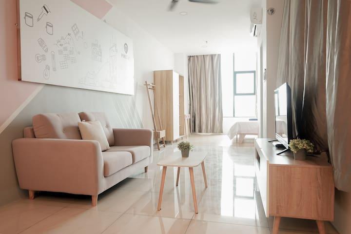 Pinstay Scandinavian Suites @ ITCC Manhattan Suite