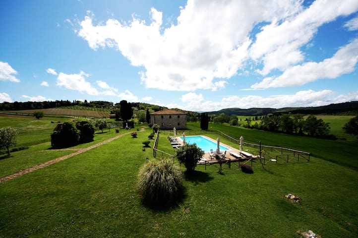 Luxury Villa with pool - free wifi - Volterra - Villa
