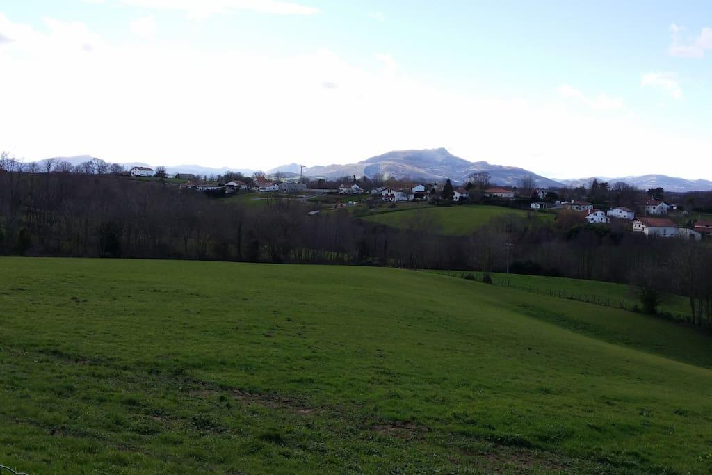 vue montagnes