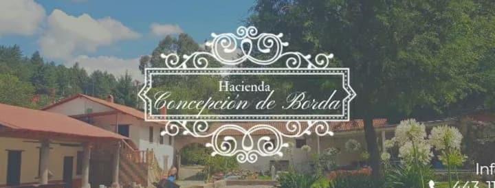 Hacienda Concepción de Borda Hab 2 independiente
