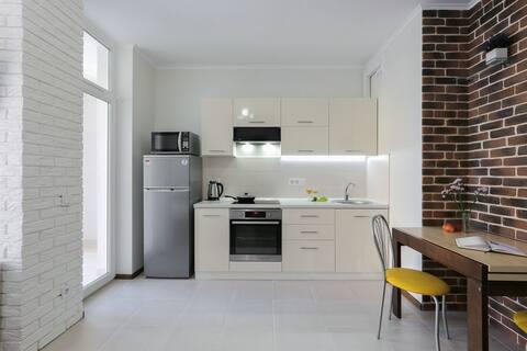 Frumos apartament euro-reparat.