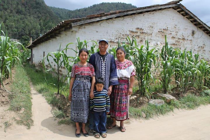 Countryside Mayan Household