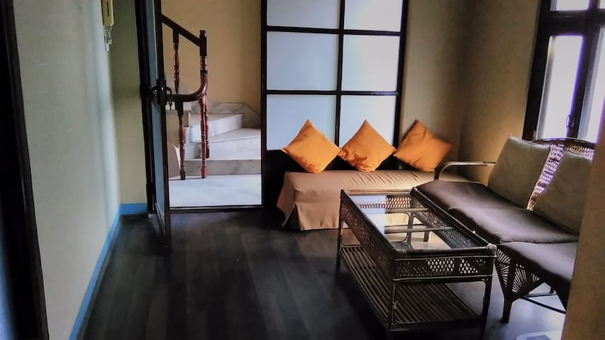 Flat in historic Basantapur
